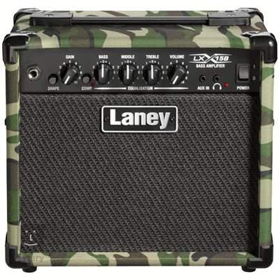 LANEY LX15B CAMO Baskytarové tranzistorové kombo