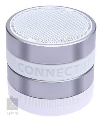 CONNECT IT BOOM BOX BS1000 SILVER Bezdrátový přenosný reproduktor