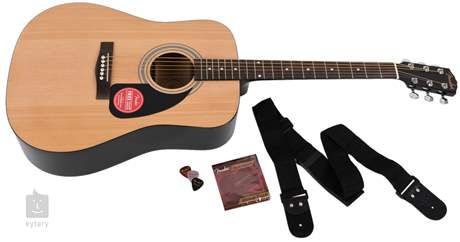 FENDER FA-115 Dreadnought Pack NT Akustická kytara