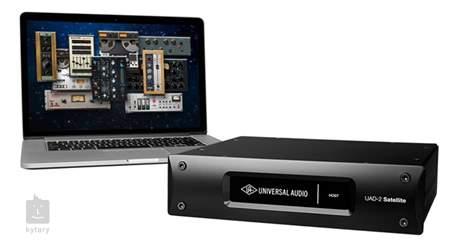 UNIVERSAL AUDIO UAD-2 Satellite Thunderbolt QUAD Core DSP karta