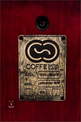 COFFEE CUSTOM CABS Cappuccino Kytarový reprobox