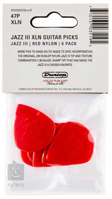 DUNLOP Nylon Jazz III XL Red Trsátka