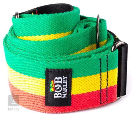 DUNLOP Bob Marley Flag Strap Kytarový popruh