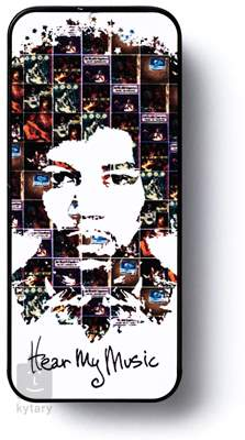 DUNLOP Jimi Hendrix Tin Pick Box Hear My Music Signature trsátka
