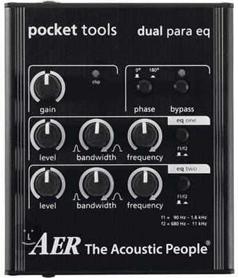 AER Dual para eq Kytarový efekt