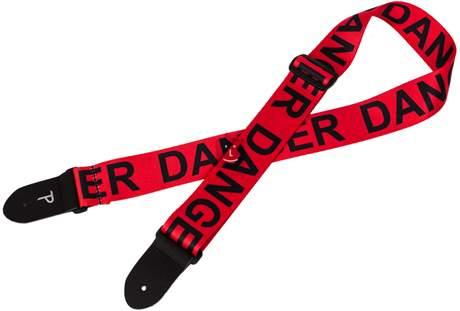 PERRI'S LEATHERS 2008 Danger Kytarový popruh