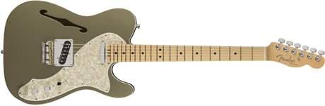 FENDER American Elite Telecaster Thinline MN CHMP Elektrická kytara