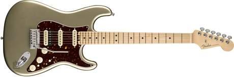 FENDER American Eite Stratocaster HSS Shawbuckers MN CHMP Elektrická kytara