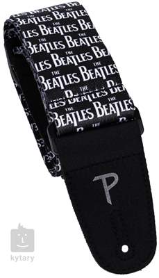 PERRI'S LEATHERS 6103 The Beatles Kytarový popruh