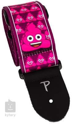 PERRI'S LEATHERS 8211 Pink Poo Kytarový popruh