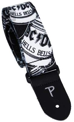 PERRI'S LEATHERS 8013 AC/DC Hell's Bells Kytarový popruh