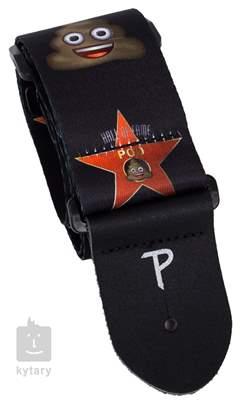 PERRI'S LEATHERS 8208 Poo Star Kytarový popruh