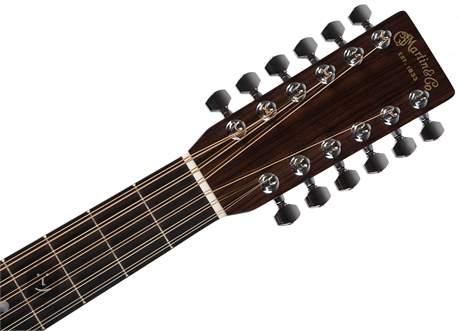 MARTIN D12-28 Dvanáctistrunná akustická kytara