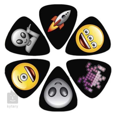 PERRI'S LEATHERS Emoji Picks II Alien Trsátka