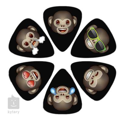 PERRI'S LEATHERS Emoji Picks VII Monkey Trsátka