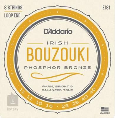 D'ADDARIO EJ81 Struny pro irské bouzouki
