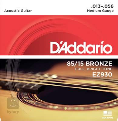 D'ADDARIO EZ930 Kovové struny pro akustickou kytaru