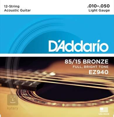D'ADDARIO EZ940 Struny pro dvanáctistrunnou kytaru