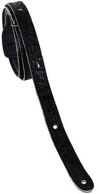 PERRI'S LEATHERS 6665 Mandolin Western Tooled Leather Black Popruh pro mandolínu
