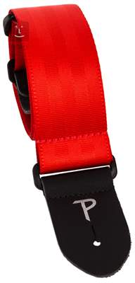 PERRI'S LEATHERS 1690 Seatbelt Red Kytarový popruh