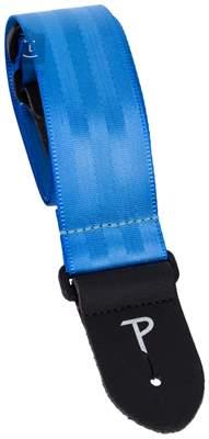 PERRI'S LEATHERS 1697 Seatbelt Sky Blue Kytarový popruh