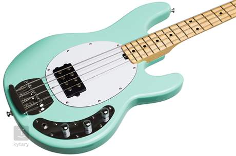 STERLING BY MUSIC MAN SUB StingRay4 Mint Green Elektrická baskytara