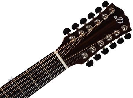 DOWINA Puella DE-12-S 2017 Dvanáctistrunná elektroakustická kytara