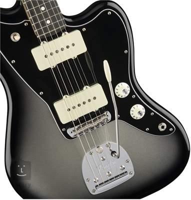 FENDER American Professional Jazzmaster EB SLVBRST Elektrická kytara