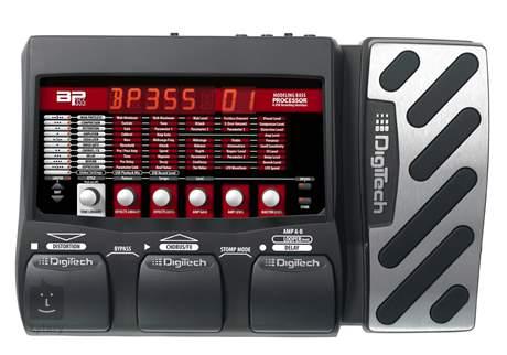 DIGITECH BP355 Baskytarový multiefekt