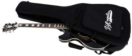 D'ANGELICO Premier DC Stairstep Tailpiece Black (použité) Semiakustická kytara