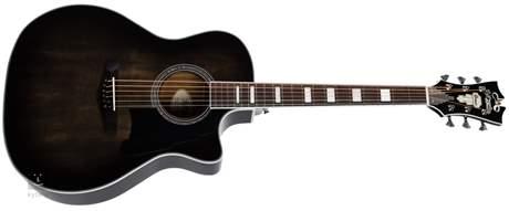 D'ANGELICO Premier Gramercy Grey Black  Elektroakustická kytara