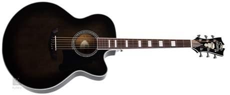 D'ANGELICO Premier Madison Grey Black  Elektroakustická kytara