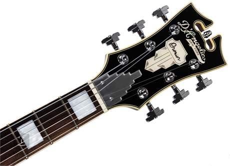 D'ANGELICO Premier SS Stairstep Tailpiece Black Semiakustická kytara