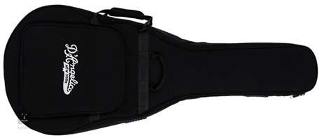 D'ANGELICO Premier SS Stairstep Tailpiece Trans Wine Semiakustická kytara