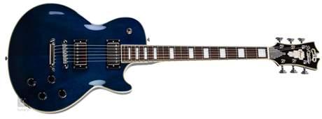 D'ANGELICO Premier SD Trans Blue Elektrická kytara