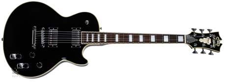 D'ANGELICO Premier SD Black Elektrická kytara