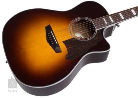D'ANGELICO Premier Gramercy Vintage Sunburst Elektroakustická kytara
