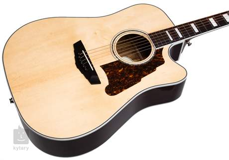 D'ANGELICO Premier Bowery Natural Elektroakustická kytara