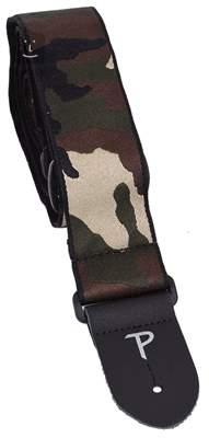 PERRI'S LEATHERS 7029 Jacquard Camouflage Kytarový popruh
