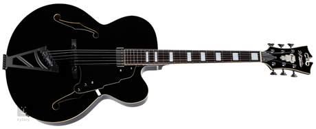 D'ANGELICO Premier EXL-1 Black Semiakustická kytara