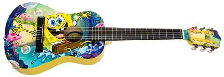 SPONGEBOB SBG03 Dětská klasická kytara
