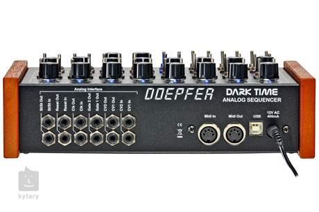 DOEPFER Dark Time white/blue LEDs Krokový sekvencer