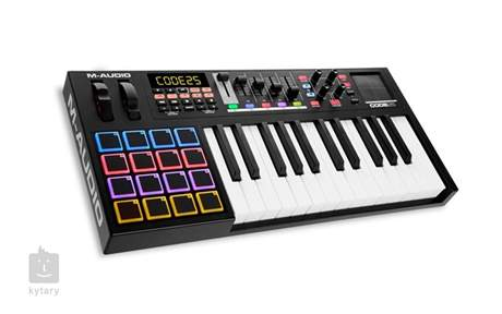 M-AUDIO Code 25 BK USB/MIDI keyboard
