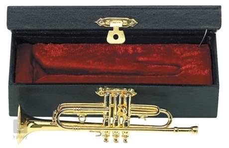 GEWA Miniature Trumpet Dárkový předmět