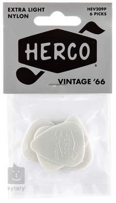 DUNLOP Herco Vintage 66 White Extra Light HEV209P Trsátka
