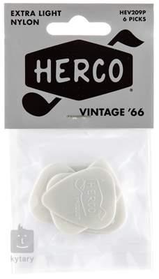DUNLOP Herco Vintage '66 White Extra Light Trsátka