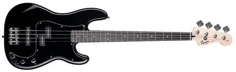 FENDER SQUIER Affinity Series Precision Bass PJ BLK Pack Baskytarový komplet
