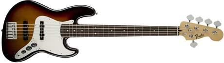 FENDER Standard Jazz Bass V PF BSB Elektrická baskytara