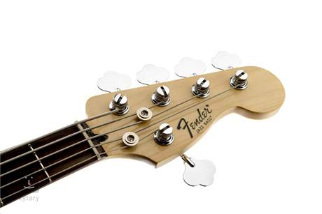 FENDER Standard Jazz Bass V PF BK Elektrická baskytara