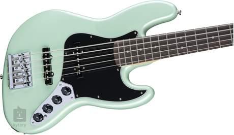 FENDER Deluxe Active Jazz Bass V PF SP Elektrická baskytara